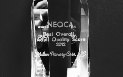 MPC Wins Best Overall Adult Quality Score 2012